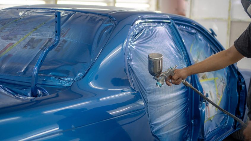 wrong about car paint