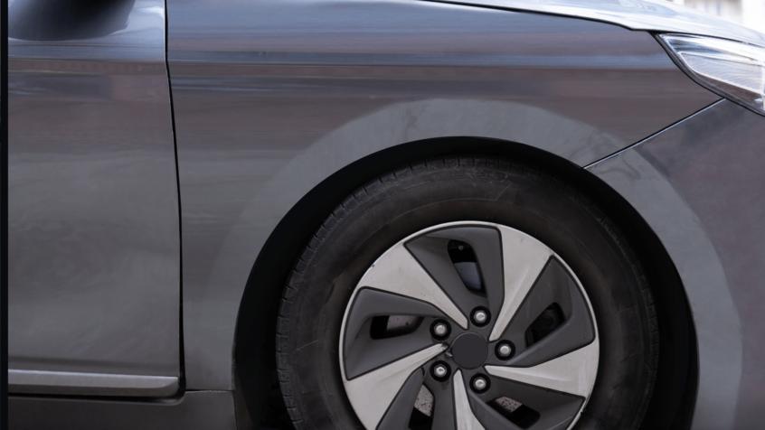 image of dark grey car